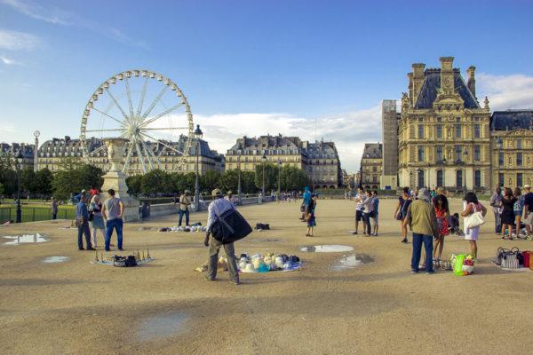 Paris und seine Trickser