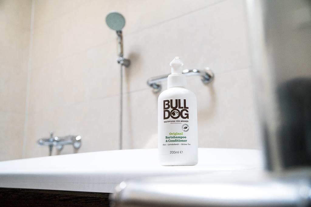 Bulldog Bartshampoo und Conditioner