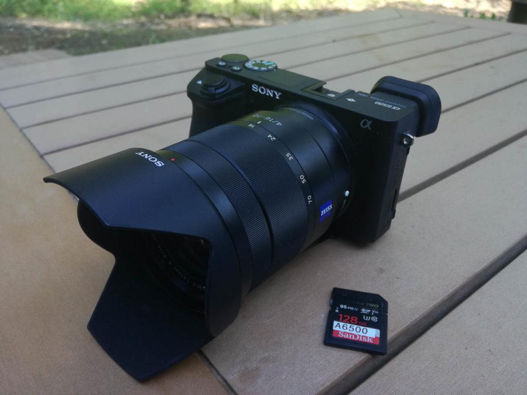 Sony A 6500